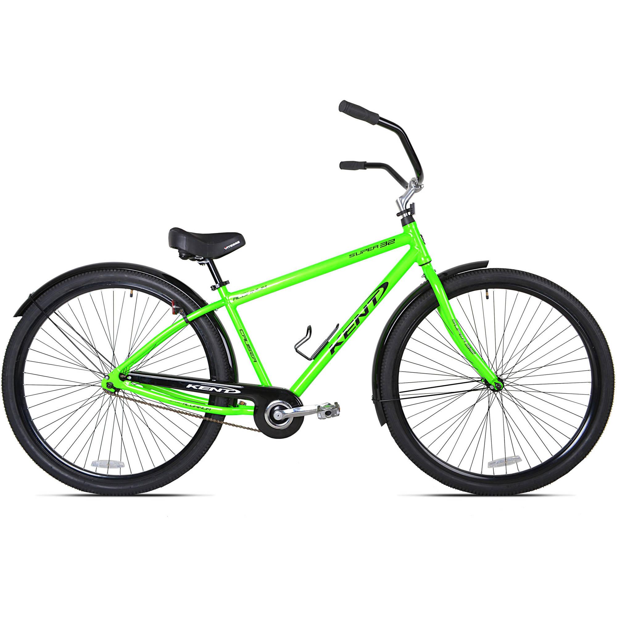"32"" Kent Super 32 Unisex Beach Cruiser Bike, Green"