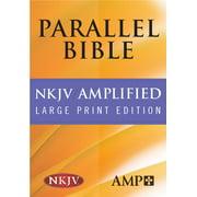 Parallel Bible-PR-Am/NKJV-Large Print