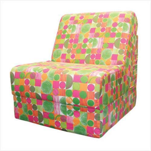 Fun Furnishings 50963 Teen Chair Space Cowboy Organic Fabric