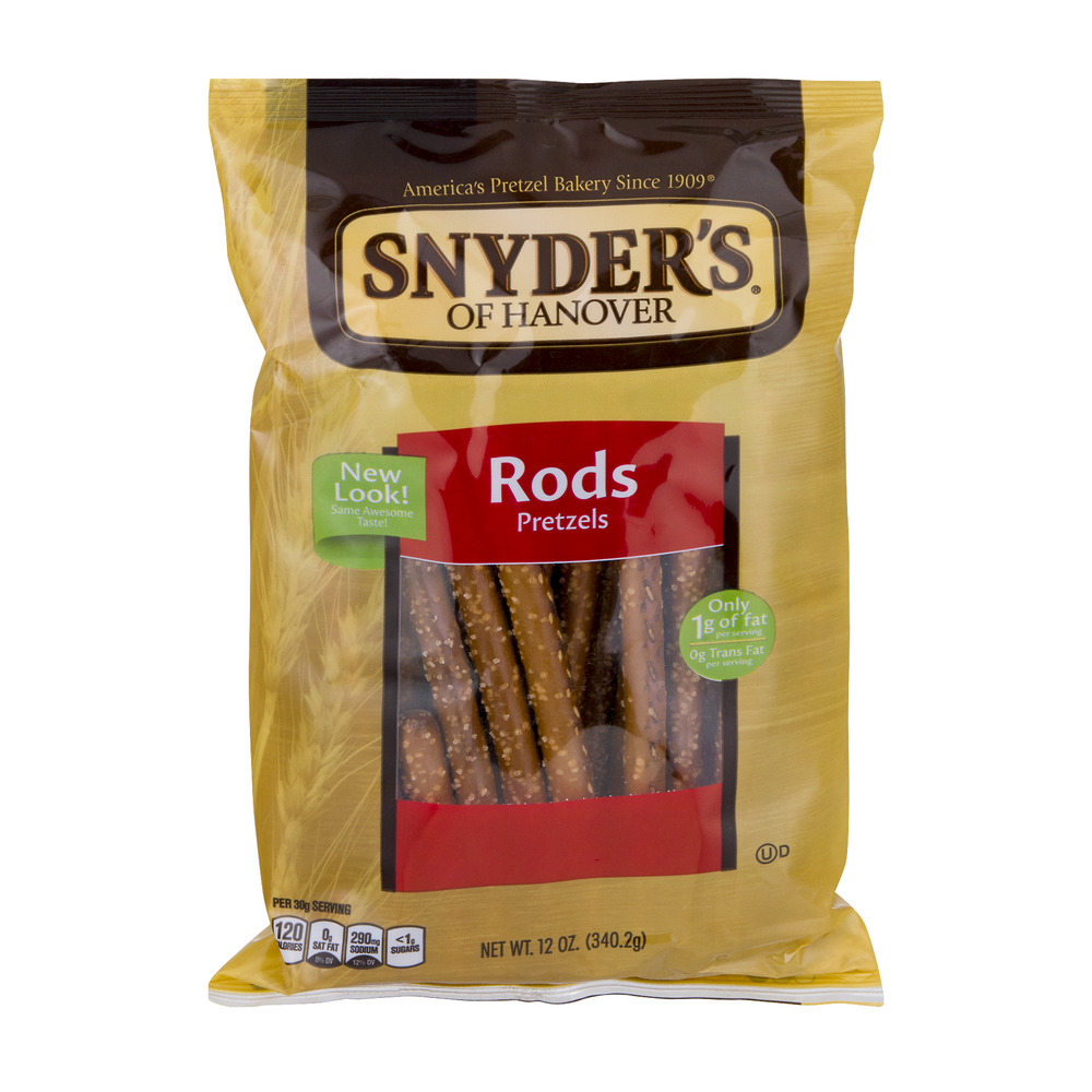 Snyder's of Hanover Pretzel Rods, 12.0 OZ