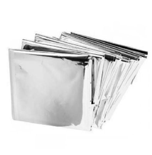 Emergency Solar Space Blanket Survival Safety/'First-Aid Insulating Mylar**