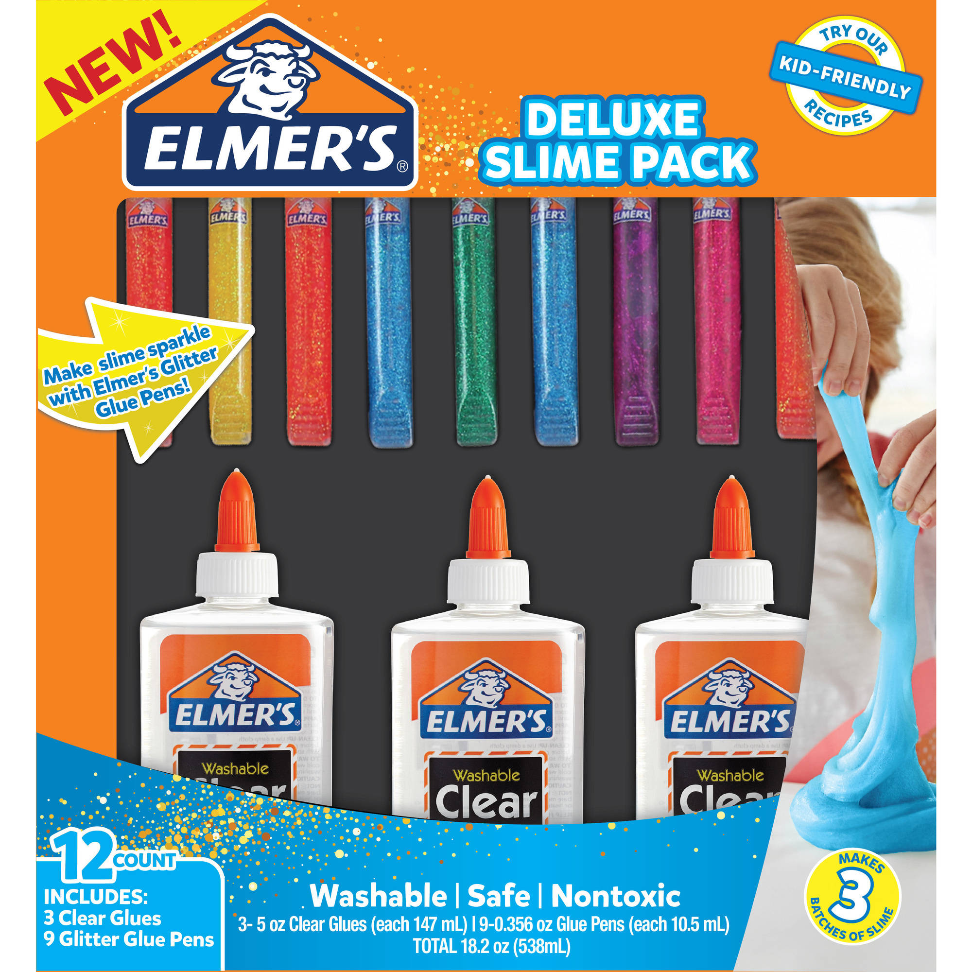 Elmer's Seasonal Slime Kits, Black Friday Slime Kit