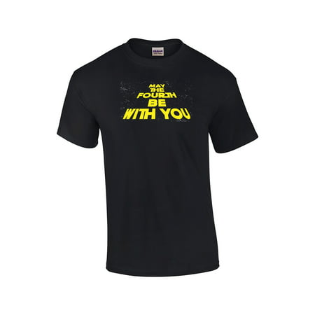 Galatic Intro May The Fourth Be With You Adult T-shirt - May The 4th Be With You Meme