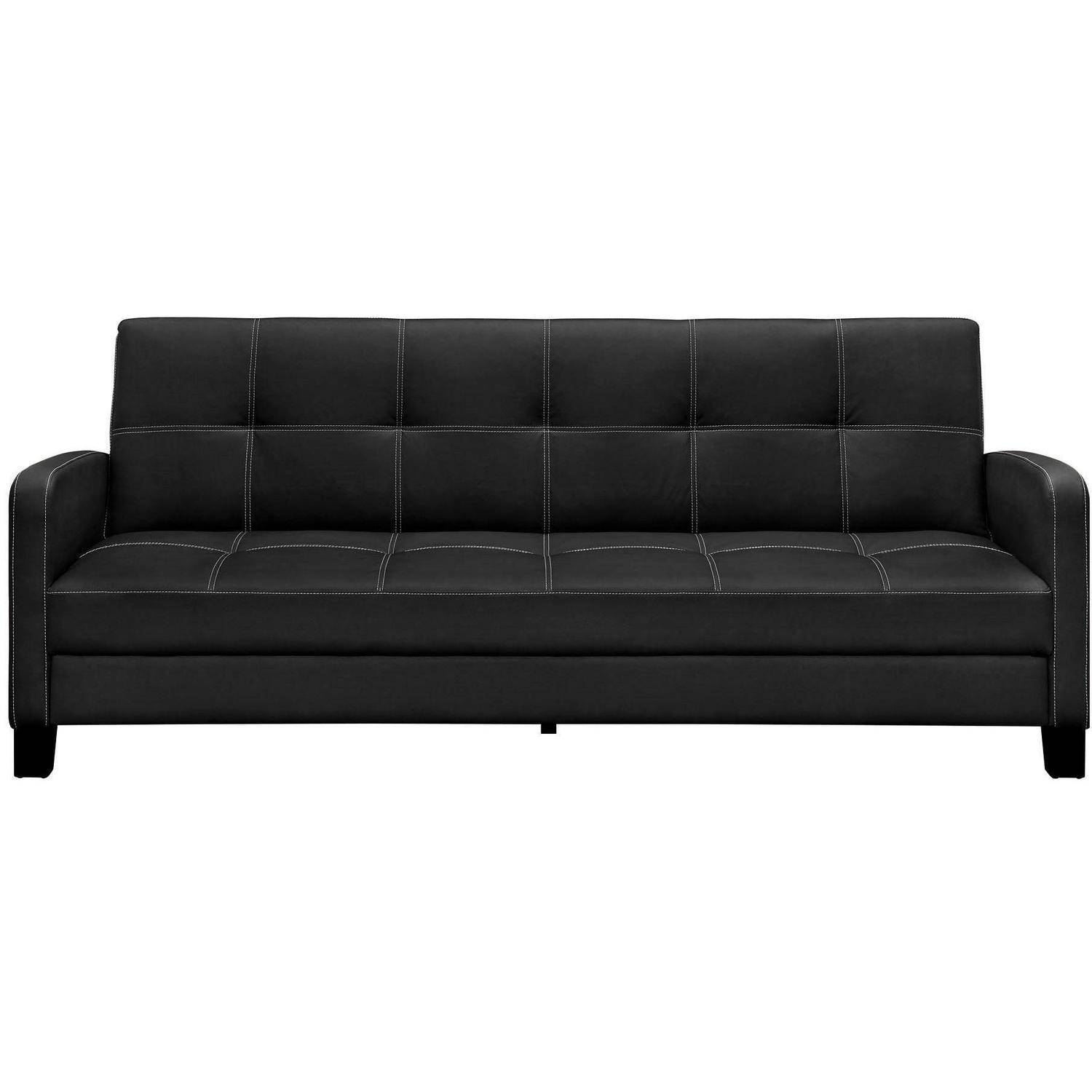 Beau DHP Delaney Futon Couch Sofa Sleeper, Multiple Colors   Walmart.com