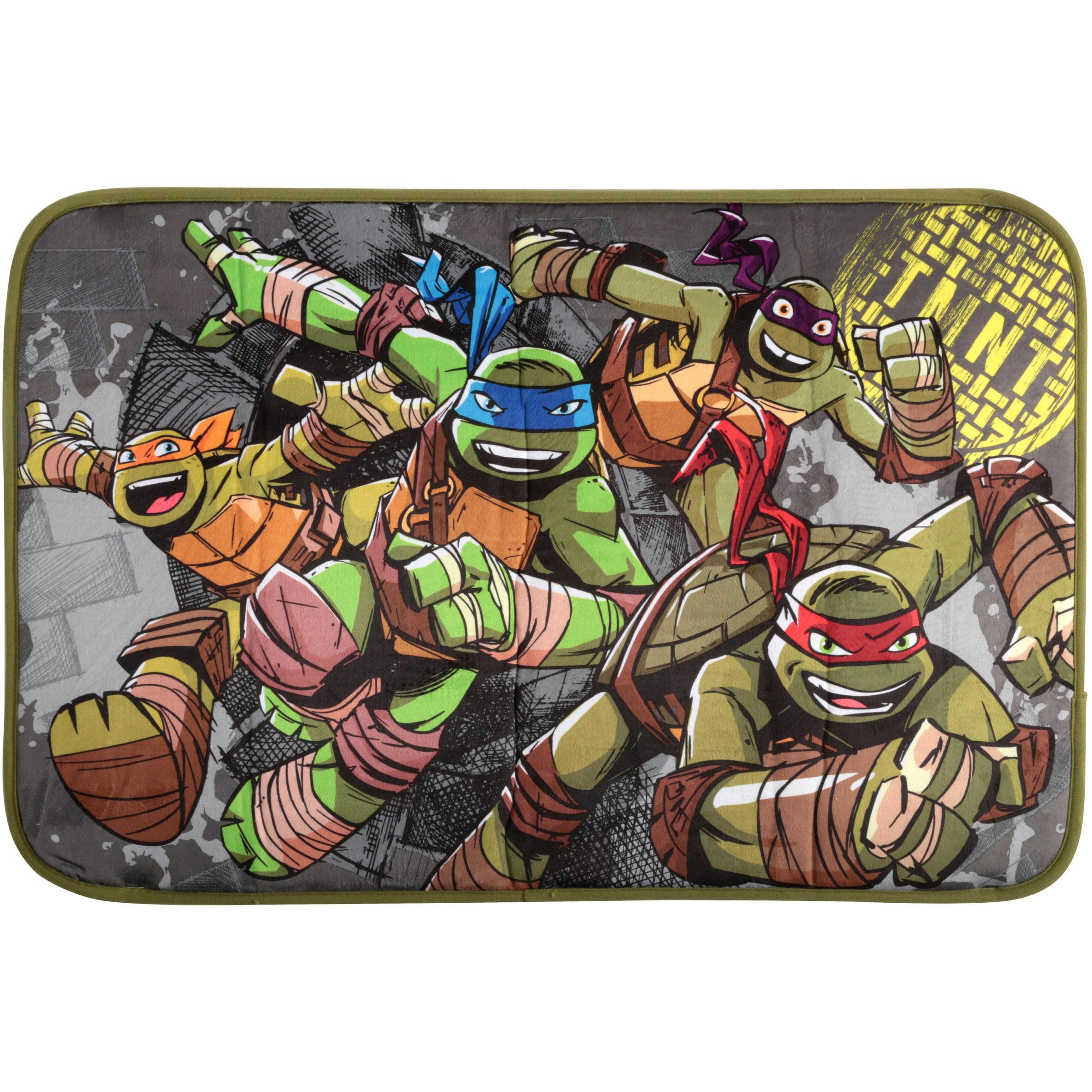 Nickelodeon Teenage Mutant Ninja Turtles Foam Bath Rug, 1 Each