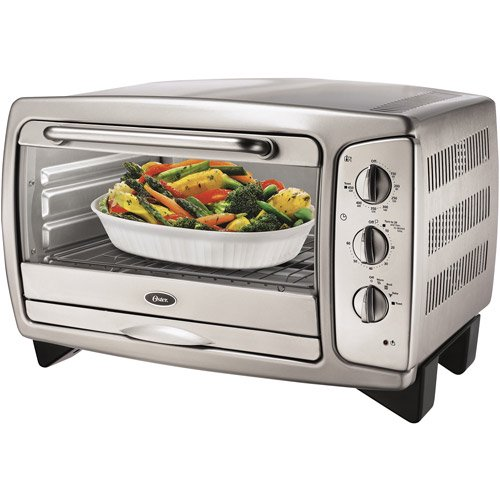 Oster Toaster Ovens At Walmart ~ Oster slice stainless steel toaster oven