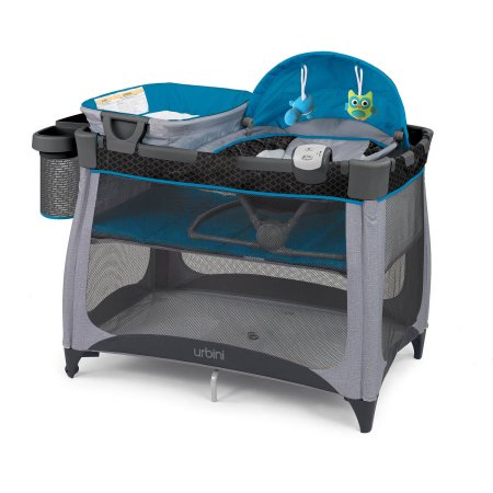 Urbini 4-in-1 Nesti Playard - Teal