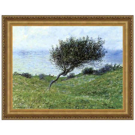 Design Toscano Seacoast At Trouville  1881  Canvas By Claude Monet Framed Painting Print