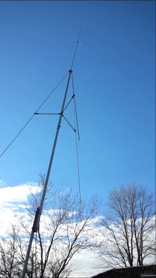 Sirio StarDuster M-400 26 5 - 30Mhz Tunable CB/10M Base Antenna