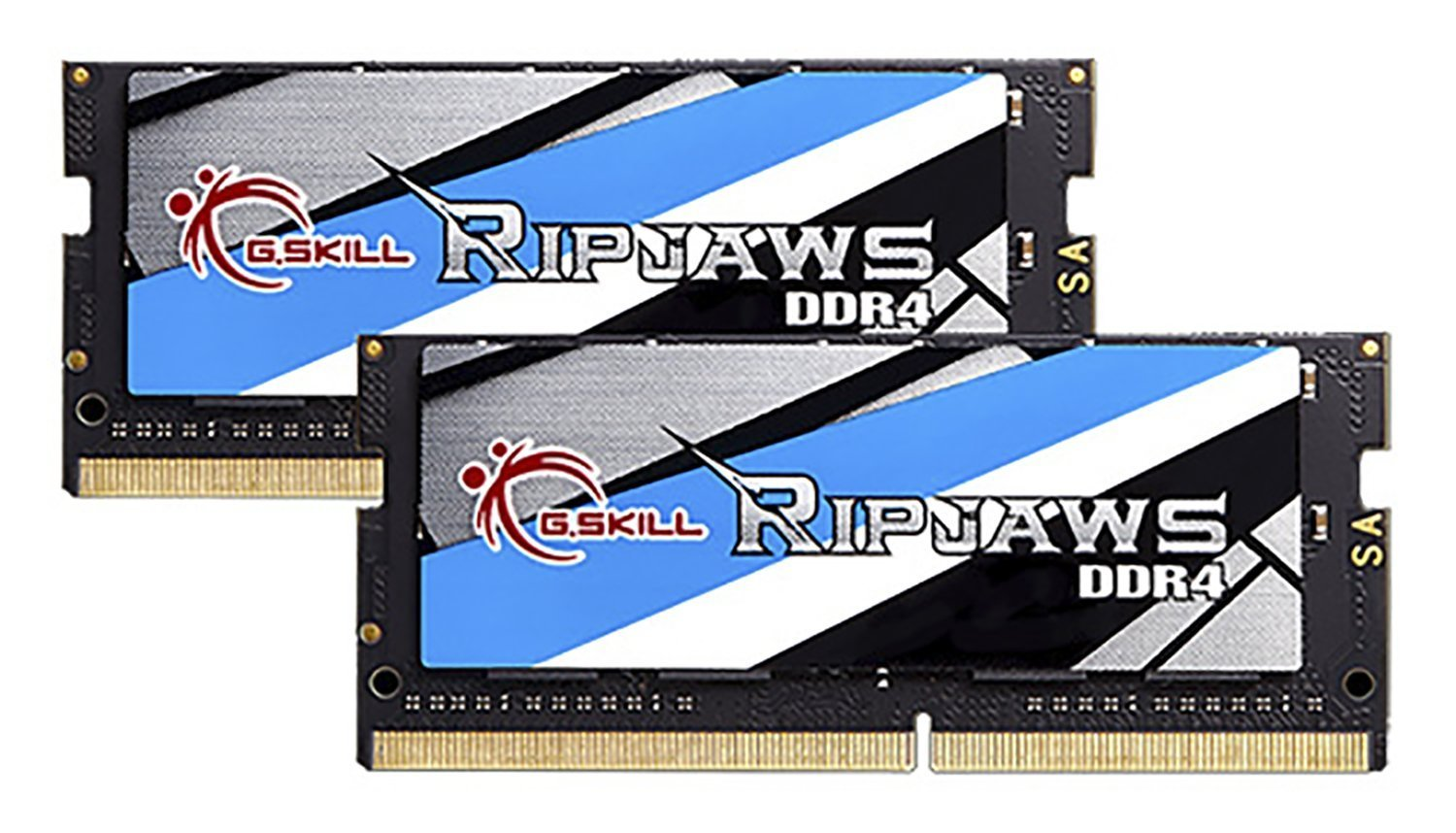 G.SKILL Ripjaws 8GB (2 x 4GB) 260-Pin DDR4 SO-DIMM DDR4 2400 (PC4 19200) Laptop Memory Model F4-2400C16D-8GRS