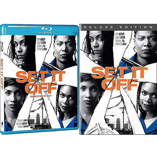 Set It Off (Director's Cut) (Blu-ray   Standard DVD 2-Pack) (Widescreen)