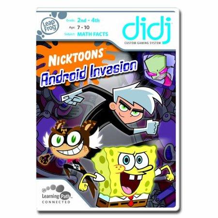 leapfrog didj custom learning game nicktoons - android invasion
