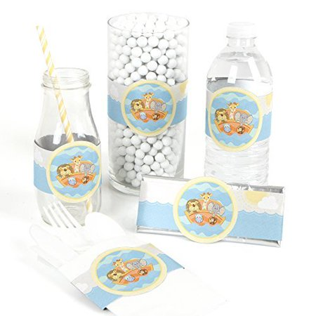 Noah's Ark - Baby Shower DIY Party Wrapper Favors - Set of (Noah's Ark Baby Shower Theme)