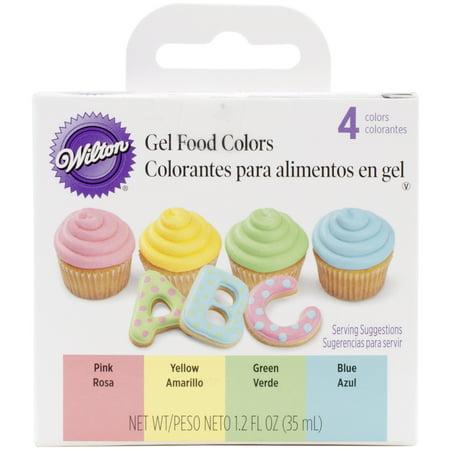 Wilton 3 oz. Gel Icing Color Set, 4 ct. 601-1006