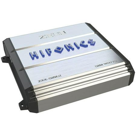 Hifonics ZXX-500.2 Zeus Series 500-Watt 2-Channel Class AB (Best Metal Amps Under 500)