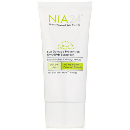 Nia 24 Sun Damage Prevention Broad Spectrum Sunscreen SPF 30, 2.5 fl. oz.