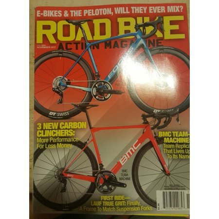 Road Bike Action Magazine November 2017 ' 2018 carbon clinchers addition