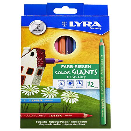 San Francisco Giants Pencil (Lyra - COLOR-GIANTS Colored Pencil Set - 12-Color)