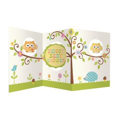 Baby Shower Happi Tree Accordion Centerpiece, Accordion Centerpiece with Happi Tree friends print By Creative -