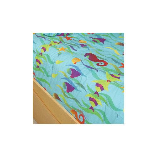 Room Magic Tropical Seas 4 Piece Toddler Bedding Set