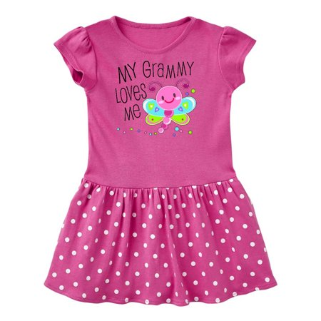 My Grammy Loves Me- cute dragonfly Toddler Dress