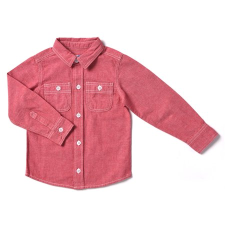 Kapital K Baby Toddler Boy Chambray Button-Down Shirt
