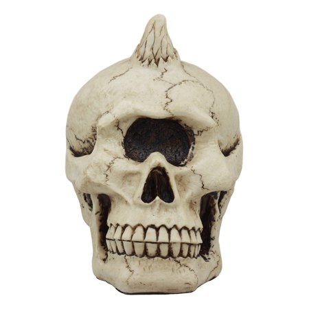 Ebros Greek Mythology Primordial Giant Cyclops Fossil Skull Statue One Eyed Legendary Cyclops Hephaestus Cranium Figurine