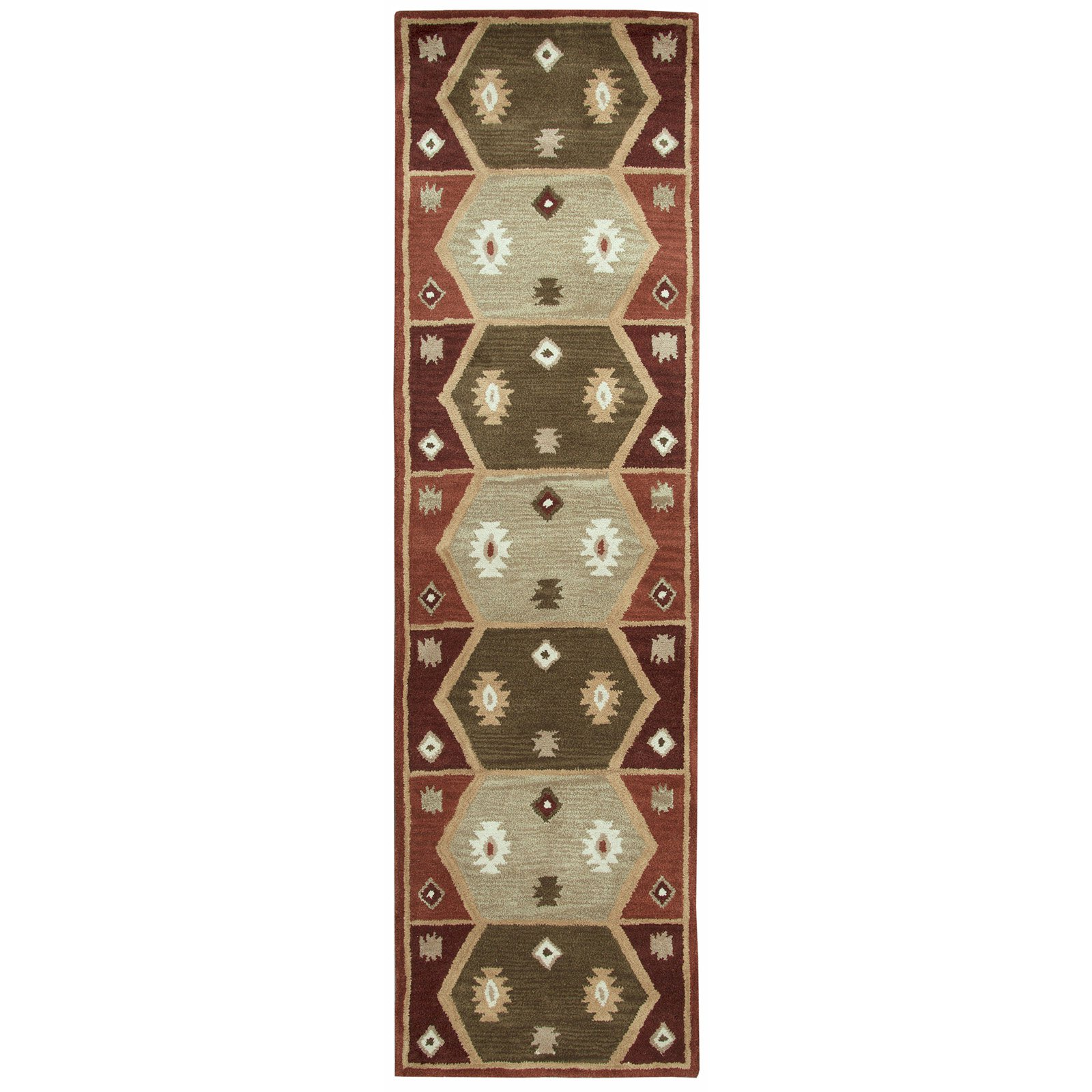 Rizzy Home Southwest SU1937 Rug - (9 Foot x 12 Foot)