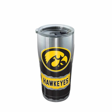 Michigan Wolverines Ncaa Tumbler - Iowa Hawkeyes NCAA Stainless Steel Knockout 20oz Tumbler - Team Color