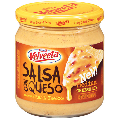 Velveeta Salsa Con Queso Medium Cheese Dip, 15 oz