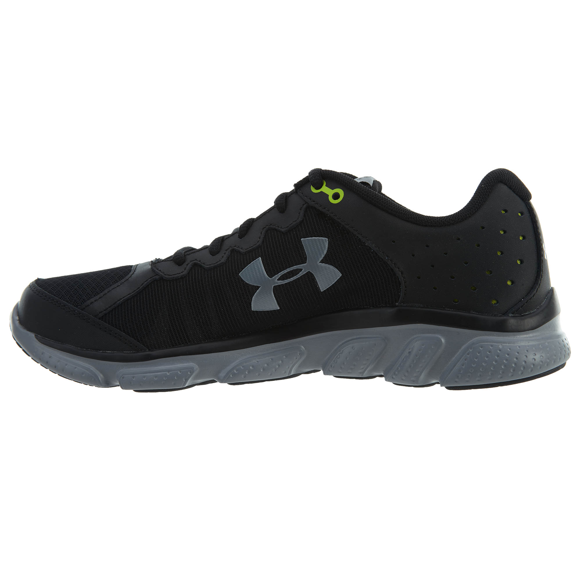 4dd781d71c6e9 Under Armour 130161300111.5 Freedom Assert 6 Men Running Black/Steel 11.5  Shoes