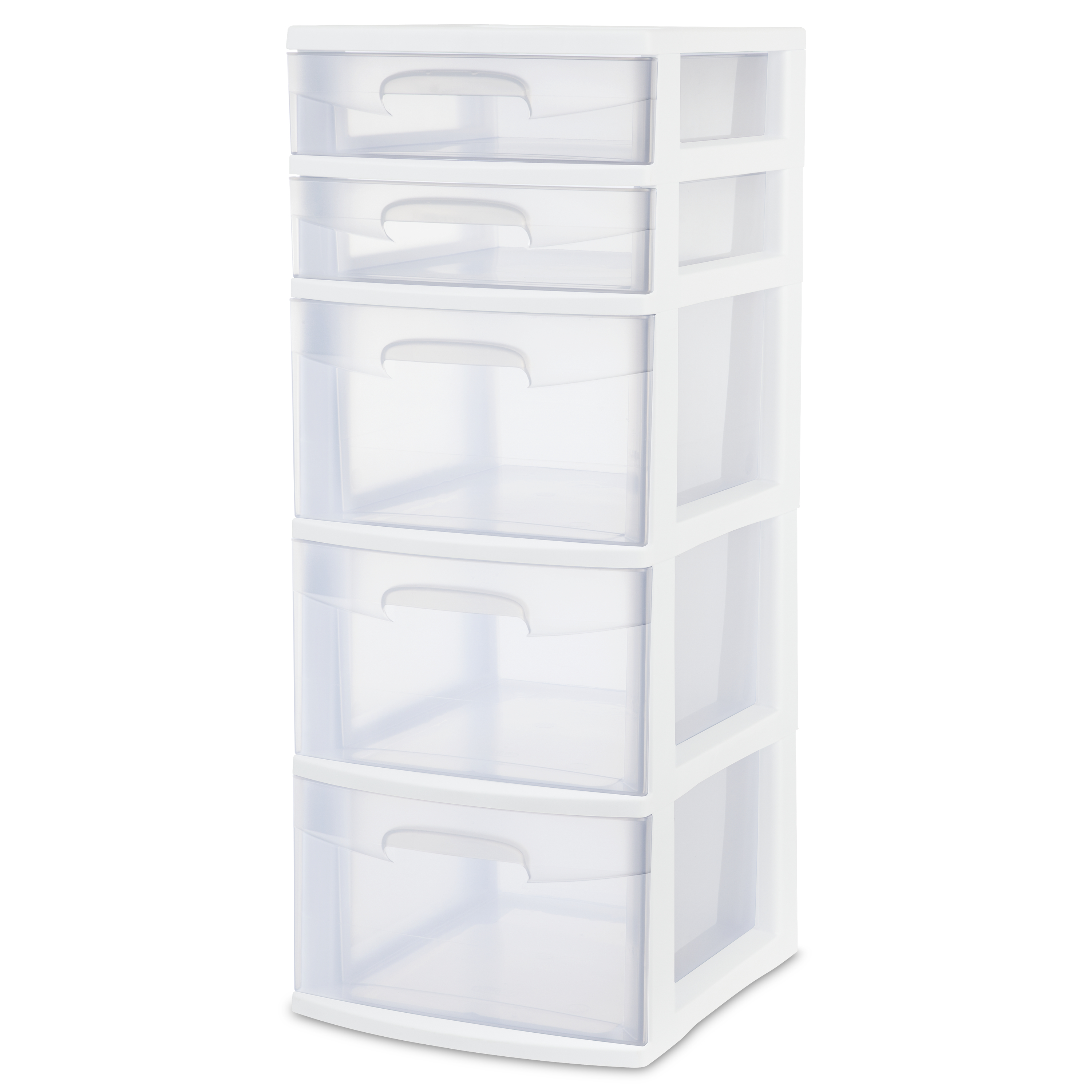 Sterilite 5 Drawer Tower -  White (available In Case Of 2 Or Single
