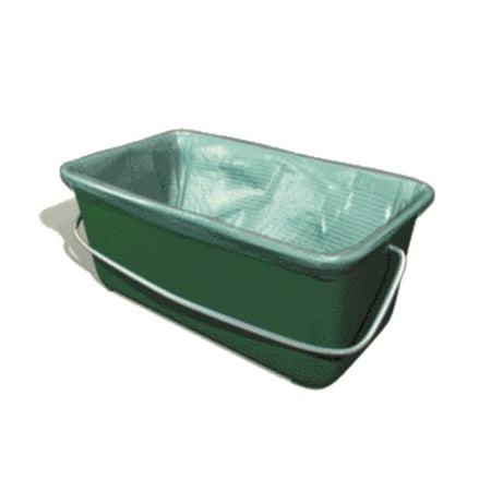 - Wooster QNC-18 Wide Boy Bucket Liner, Green, 5 Gallon