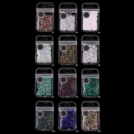 Glitter Sheet Glitter Nail Ornament Pretty Cosmetics Surprise Present - image 8 of 8