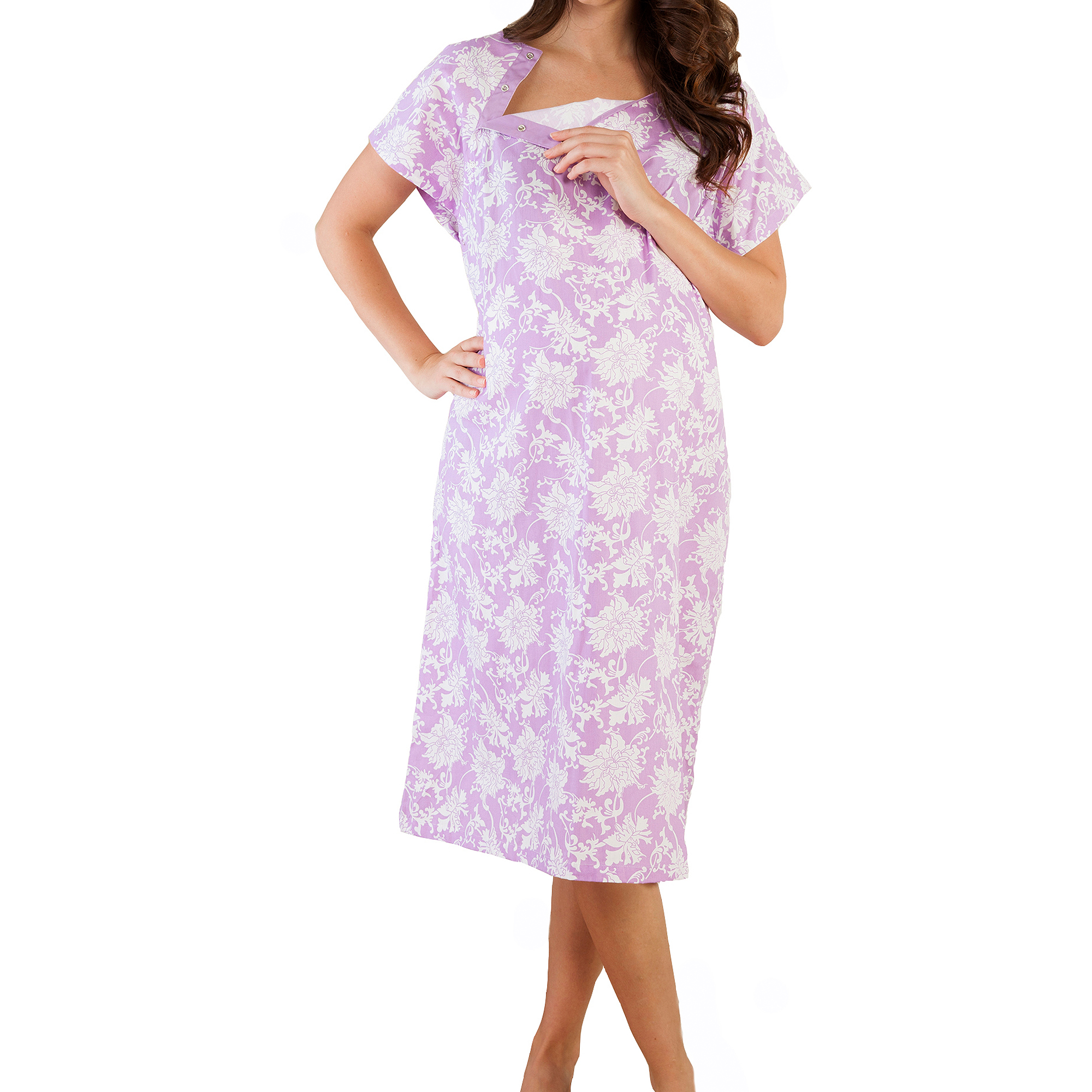 Baby Be Mine Maternity Nursing Hospital Gownie with Pillowcase ...