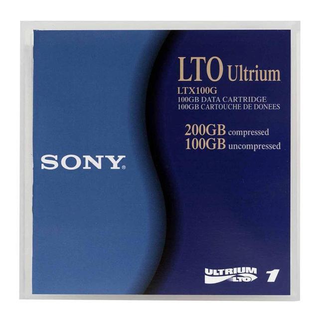 PLASMON LTX100G LTO, ULTRIUM-1, 100GB/200GB