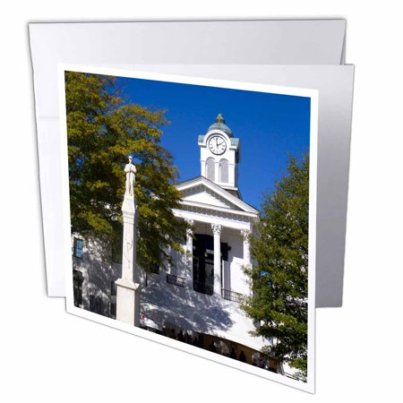 3dRose Lafayette County Courthouse, Oxford, Mississippi - US25 DFR0041 - David R. Frazier, Greeting Cards, 6 x 6 inches, set of 6