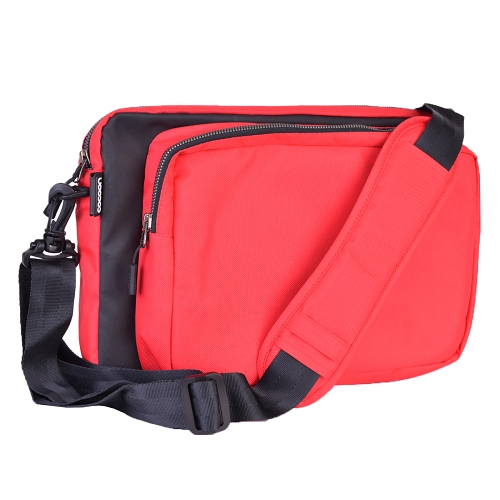 "Cocoon CLS456RD Nylon 13"" Laptop & Tablet Sleeve w/Grid-It Organization - Red"