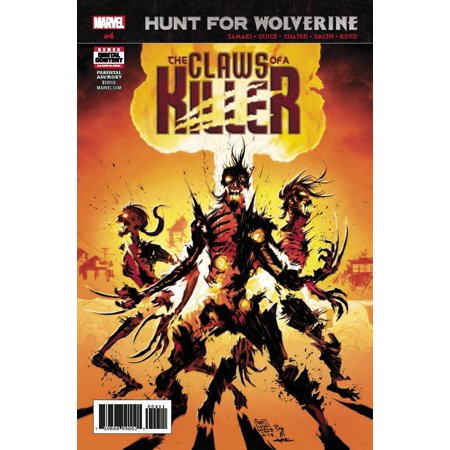 Marvel Hunt for Wolverine #4 The Claws of a Killer](Fake Wolverine Claws)