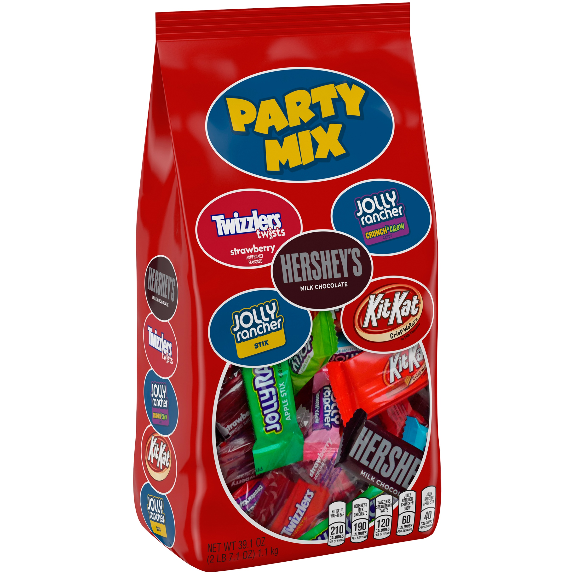Hershey's, Party Mix Candy Assortment, 37.9 Oz