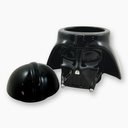 Icup Inc Star Wars Darth Vader Molded Ceramic Jar Walmart