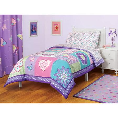 American Kids Butterfly Comforter Walmart Com