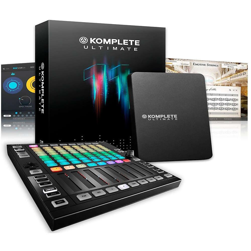 Native Instruments Maschine JAM with KOMPLETE 11 Ultimate by Native Instruments