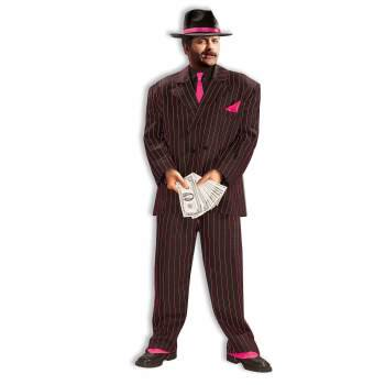 CO-JAZZY PINK GANGSTER SUIT-XL - Gangster Items
