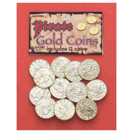 Pirate Gold Coins Halloween Costume - Halloween Costume Pirate Accessories