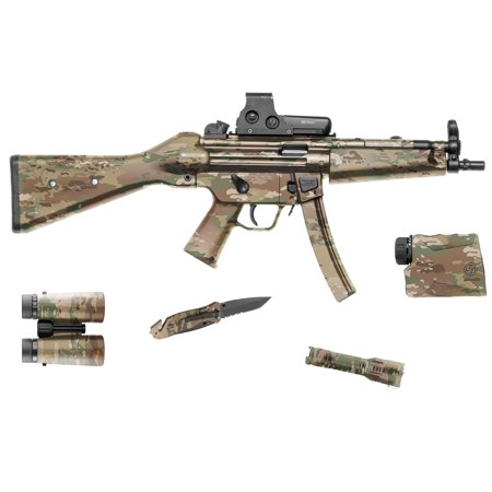 Gun Camo Kit - GunSkins Tactical/Hunting Camouflage Gear Skin DIY Vinyl 8