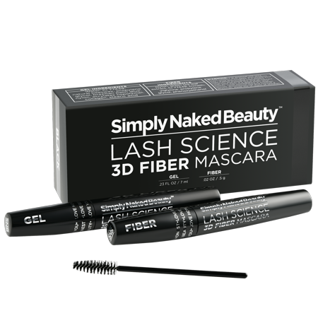 Smudge Proof Halloween Makeup (Best 3D Fiber Lash Mascara by Simply Naked Beauty. Last All Day, waterproof, smudge proof & hypoallergenic ingredients. non-toxic and natural. Midnight)