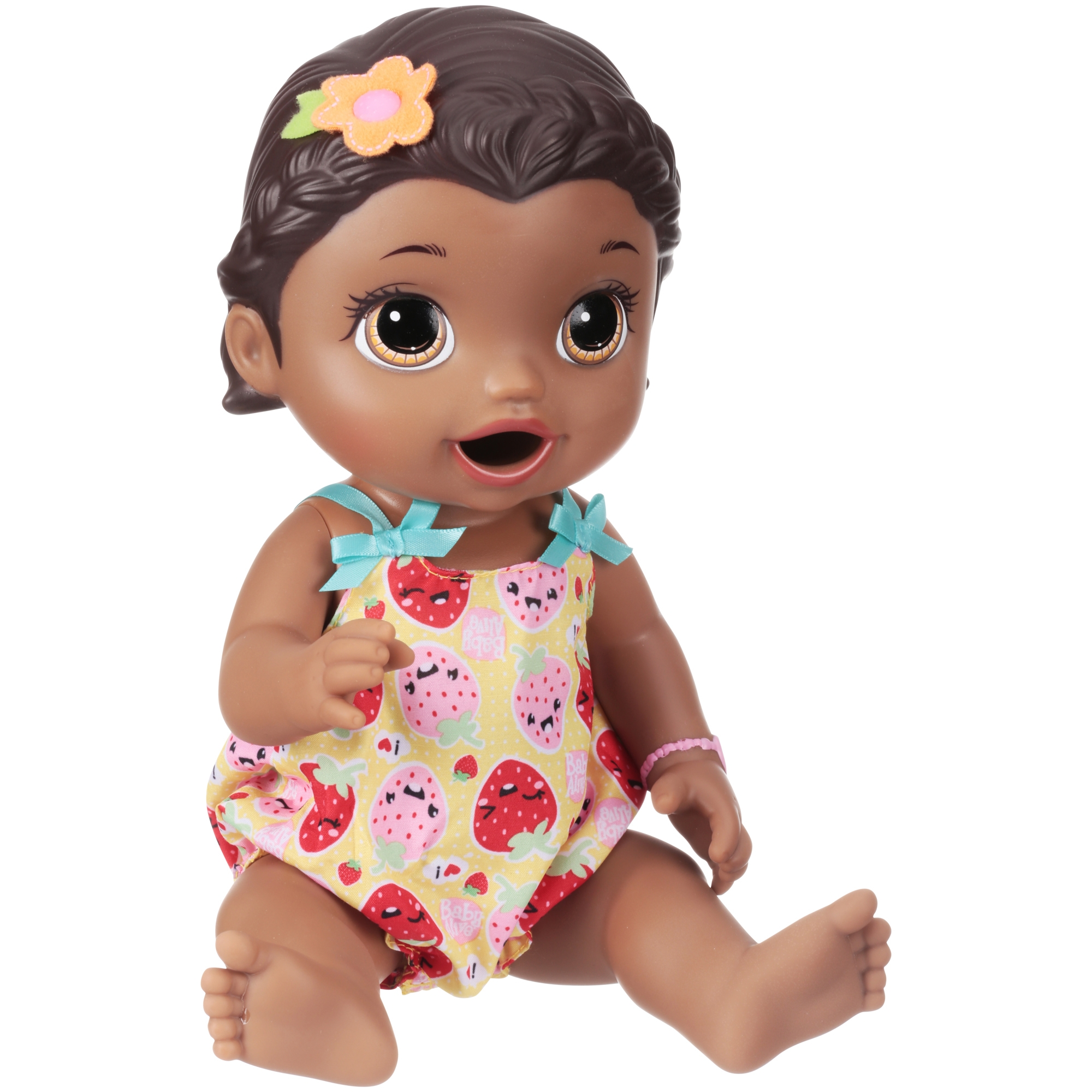 Baby Alive Super Snacks Snackin' Lily - Black Hair