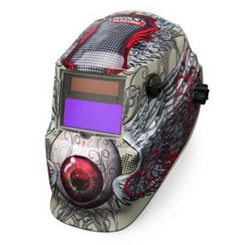 Lincoln Electric Welders K3190-1 600S Variable Shade 9-13 ADF Helmet, Bloodshot