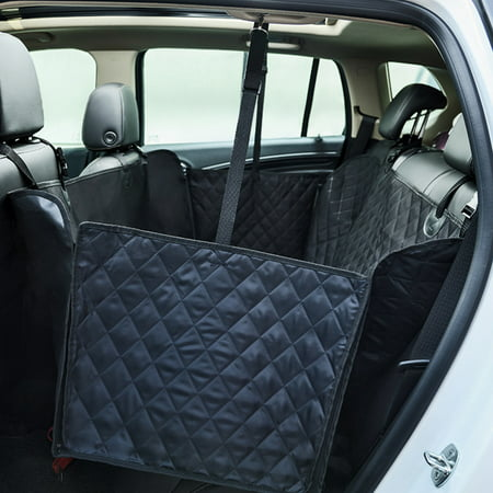 Car Pet Seat Cover, Waterproof Nonslip Back Bench Seat Covers, Car Seat Mat for Pets Dogs, Universal Hammock for Cars Trucks and SUVs - image 6 de 6